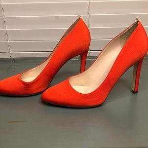 SJP by Sarah Jessica Parker Shoes - SJP Red/Orange Heels